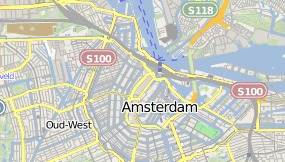 Mapa do Inntel Hotels Amsterdam Centre