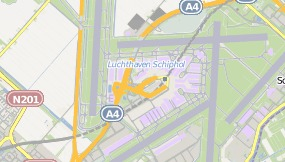 Map of Hotel citizenM Schiphol Airport