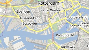 Map of Hotel Port Rotterdam